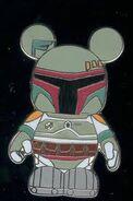 Boba Fett Mickey Pin