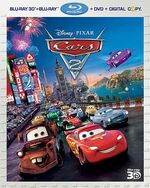 Cars2 3D Bluray