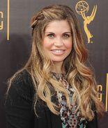 Danielle Fishel attending Emmy Awards