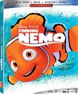 Finding Nemo Blu-ray 2019