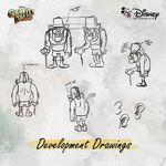 Gravity Falls Concept Art - Grunkle Stan