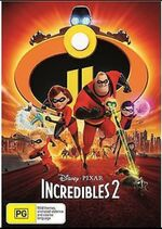Incredibles 2 2018 AUS DVD