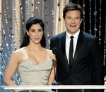 Jason Bateman & Sarah Silverman speak at SAG Awards