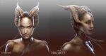 Kelton Cram Maleficent Concept Art V