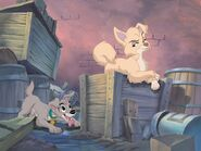 Lady and the Tramp 2 Promotional Images - 6 with Scamp and Angel - 2