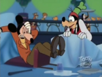 Mortimer after landing on Goofy