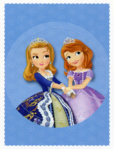 Panini Sticker Cards - Amber and Sofia 1