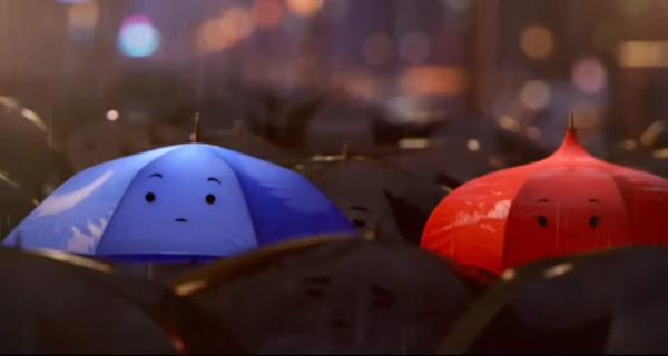 The Blue Umbrella Pixar