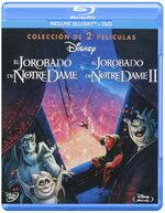 The Hunchback of Notre Dame 2-Movie Mexico Blu-Ray