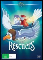The Rescuers 2016 AUS DVD