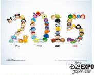D23 Japan Tsum Tsum Promotional Artwork