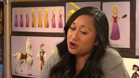 Disney 365 Interview – Rapunzel and Mom in Tangled The Series