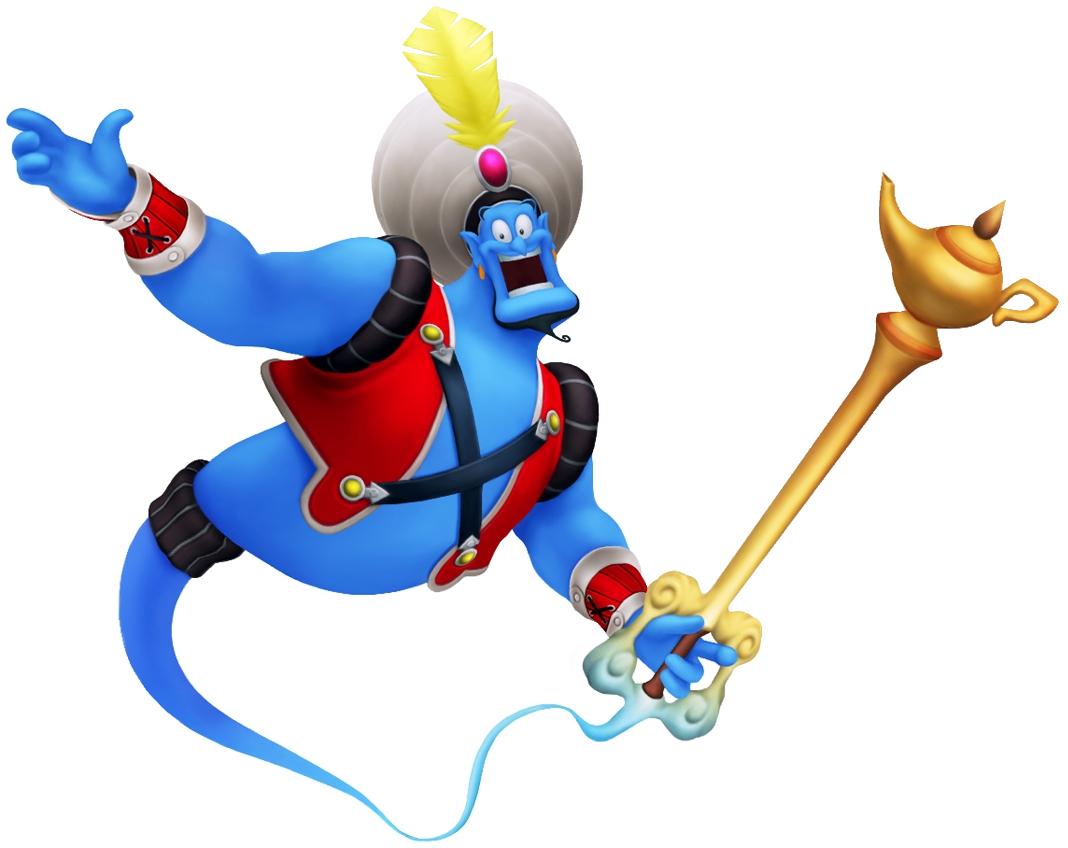 Image - Genie (Valor) KHII.png | Disney Wiki | FANDOM powered by Wikia for Aladdin Genie Clipart  35fsj