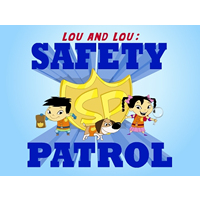 Lou and Lou Safety Patrol Logo
