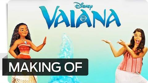 Making of VAIANA - Easter Egg Aladdin Disney HD