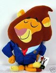 Mayor Lionheart Flatsie Plush