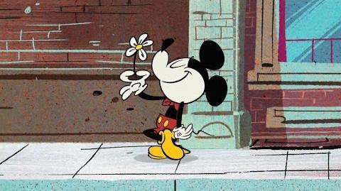 Mickey Mouse Een bloemetje voor Minnie Disney NL