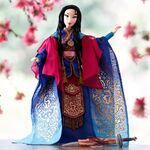 Mulan limited edition doll