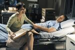 Once Upon a Time - 1x03 - Snow Falls - Production - Mary Margaret and David