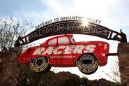 Radiator Springs Racers entrance