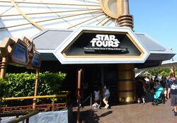 Star Tours at Disneyland