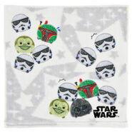 Star Wars Tsum Tsum Gray Towel