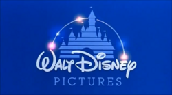 Walt Disney Pictures - I'll be Home for Christmas Logo