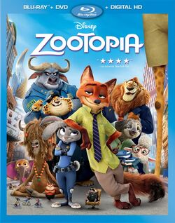 Zootopia Blu-ray Cover