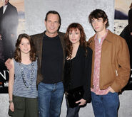 Bill Paxton & Family HBO Love premire