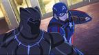 Captain America n Black Panther AUR 09