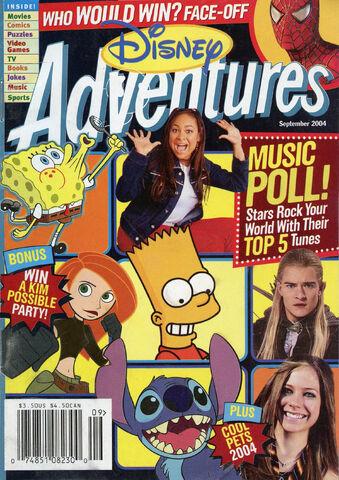 File:Disney Adventures Magazine cover September 2004 Music Poll.jpg
