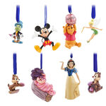 Disney Classics Sketchbook Ornament Set - Disney Store 30th Anniversary - Limited Edition