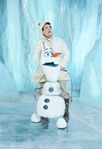 Frozen Musical cast photos - Olaf