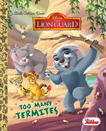 The Lion Guard Too Many Termites Book