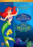 The Little Mermaid II & Ariel's Beginning DVD 2013