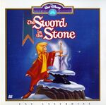 The sword in the stone masterpiece laserdisc