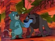 Cain baloo and kaa