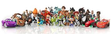 DisneyINFINITY personajes