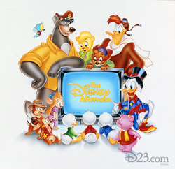 Disney Afternoon 1990 promotional picture