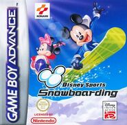 Disney Sports Snowboarding - (EU)
