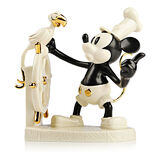 Disney Steamboat Willie Limited Edition Numbered Figurine by Lenox
