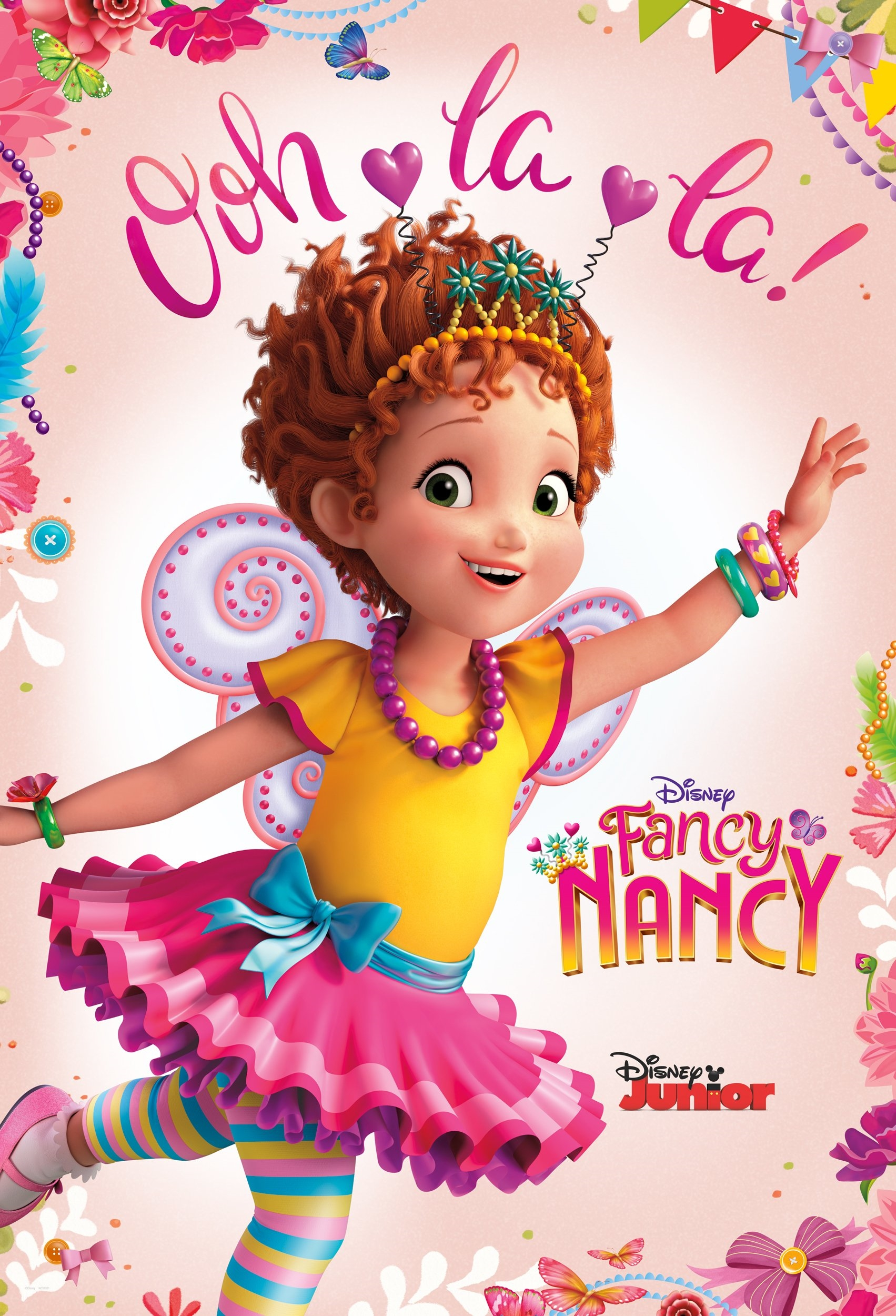 Fancy Nancy Classic Nancy Costume For Toddlers Kids Baby Clothing Shoes Jewelry