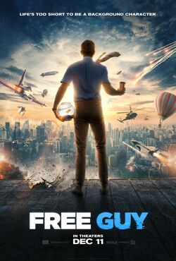 Free Guy Official Poster