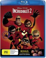 Incredibles 2 2018 AUS Blu Ray