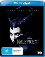 Maleficent 2014 AUS Blu-Ray 3D