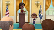 Michelle Obama Doc McStuffins