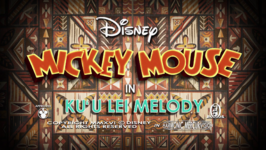 Mickey Mouse 2013 Ku'u Lei Melody title card