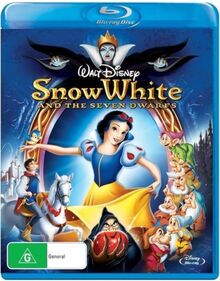Snow White and the Seven Dwarfs 2015 AUS Blu Ray
