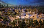 Star Wars Land D23 2017 Model 10