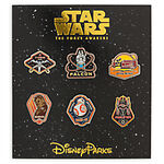 Star Wars The Force Awakens Pin Booster Set